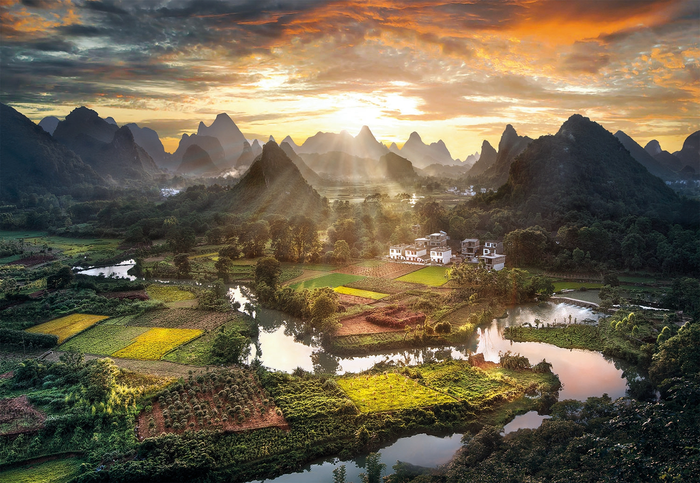 View of China   20 teile   High Quality Collection   Clementoni