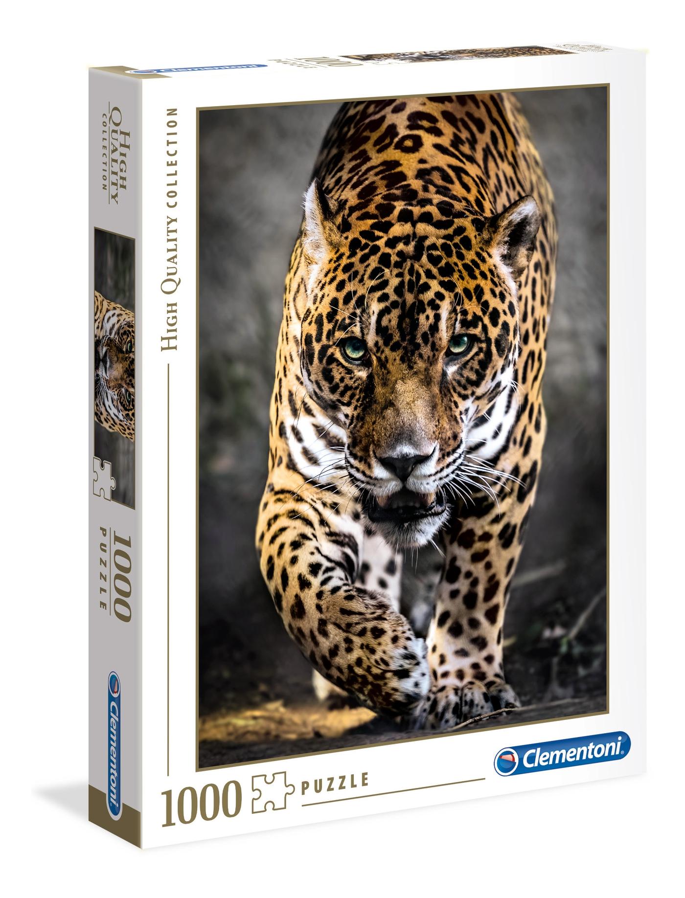 walk of the jaguar 1000 teile high quality collection clementoni. Black Bedroom Furniture Sets. Home Design Ideas