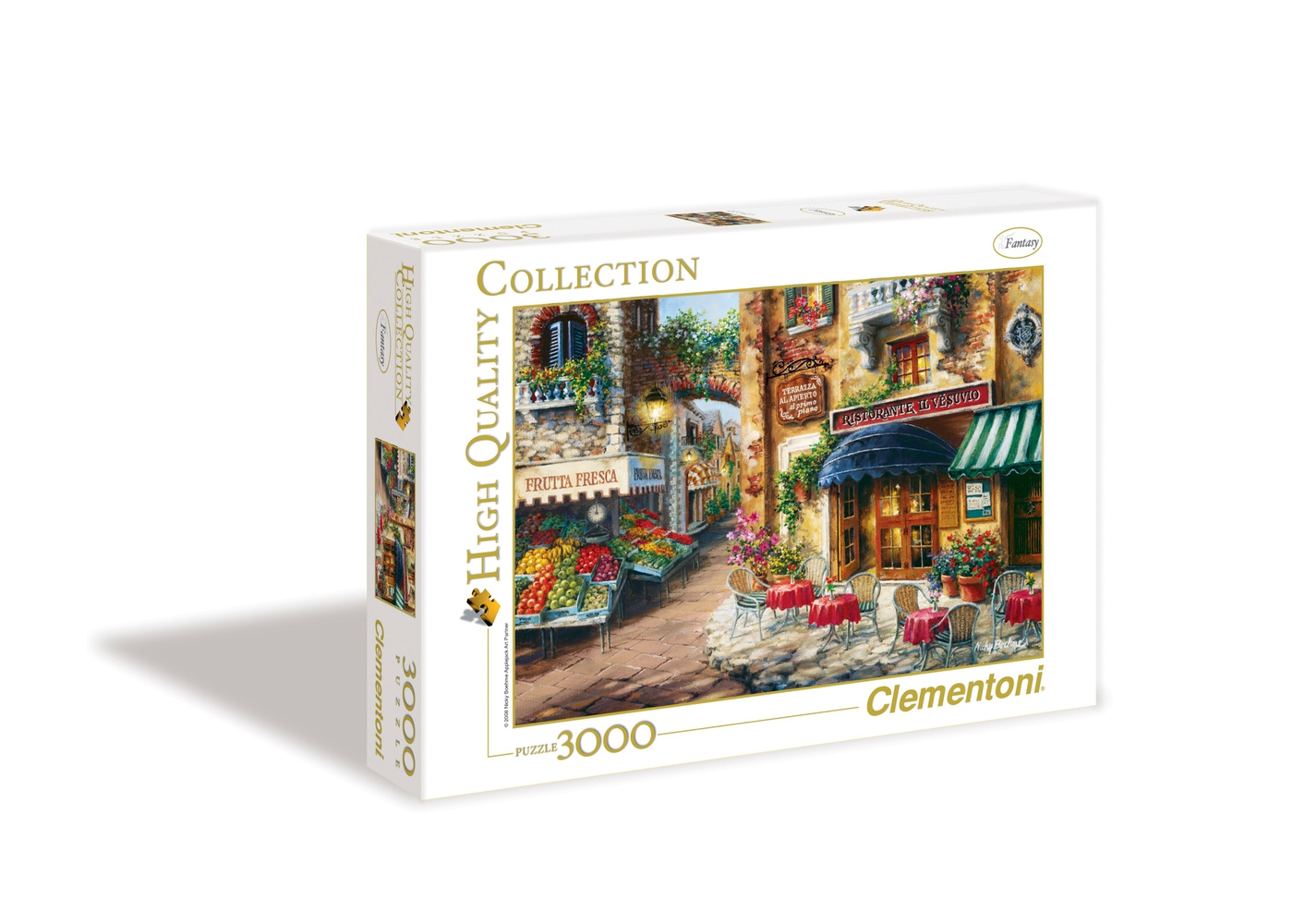 buon appetito 3000 pieces high quality collection clementoni