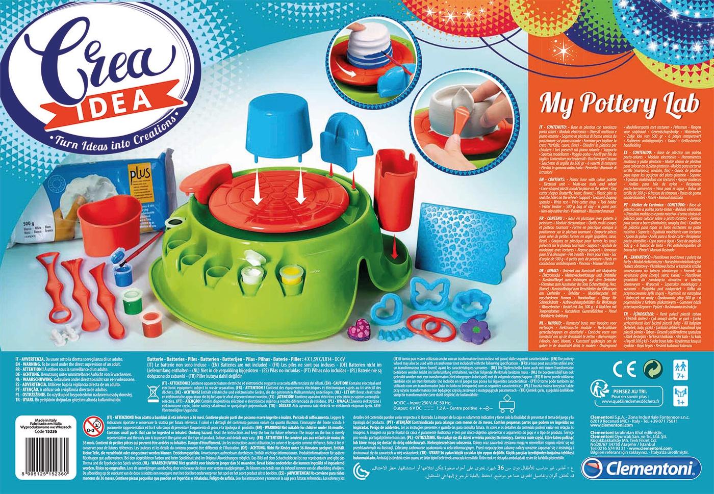 Create Idea Attacca Stacca Mehrfarbig Clementoni