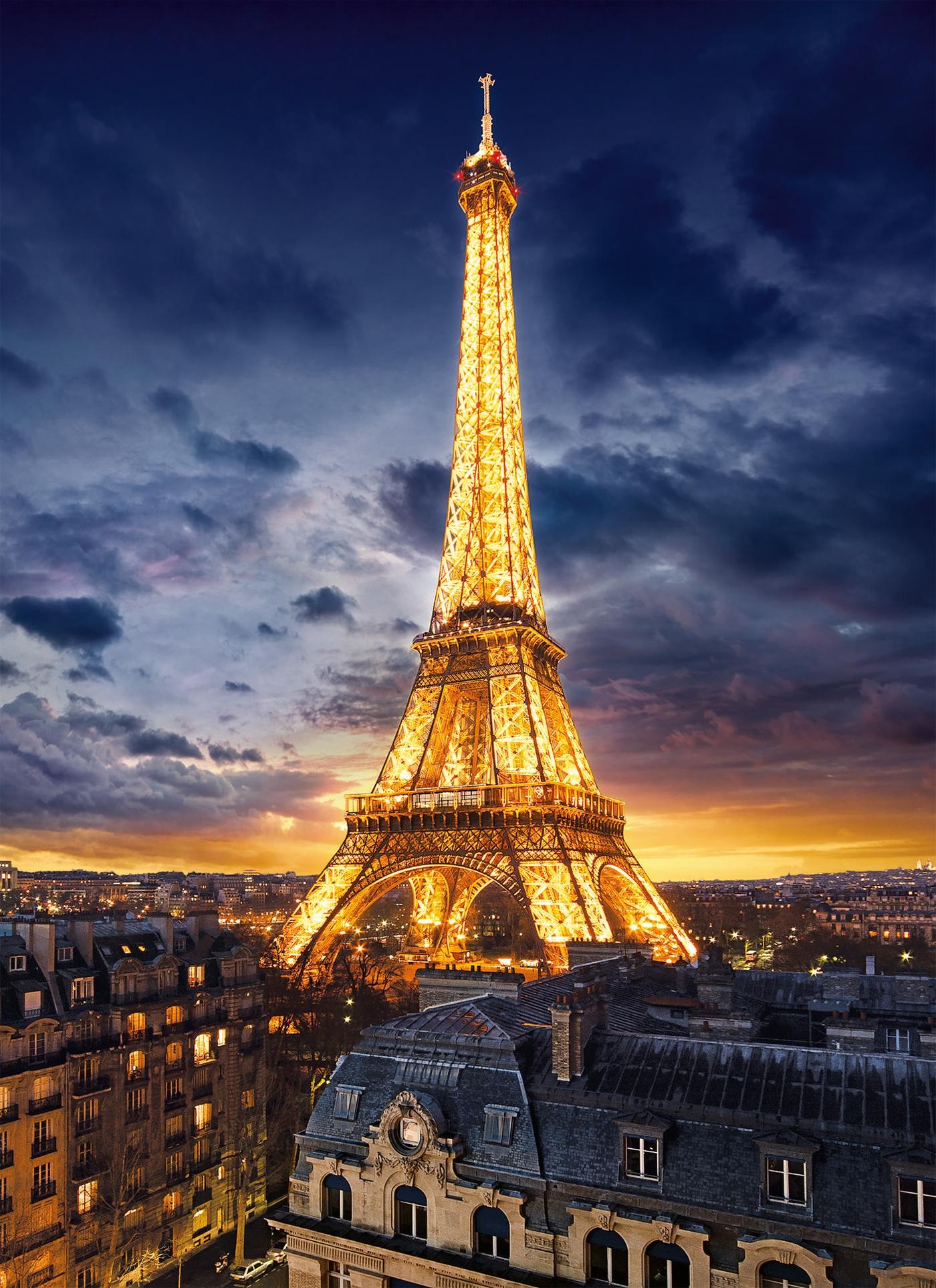 Tour Eiffel 1000 Pcs High Quality Collection Clementoni