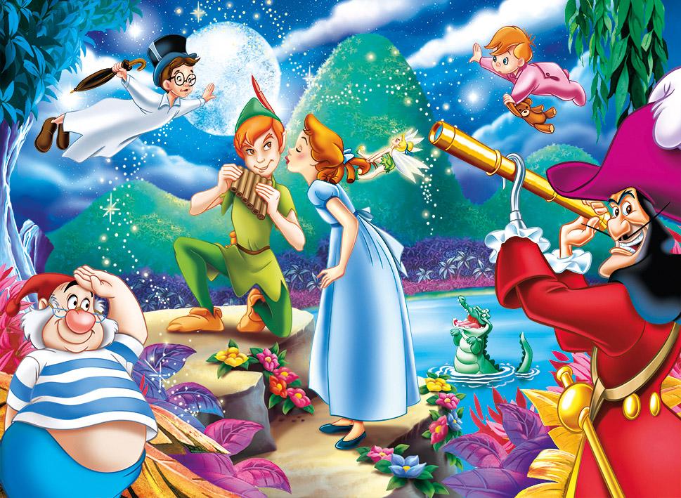 Disney Peter Pan 104 Pcs Supercolor Clementoni