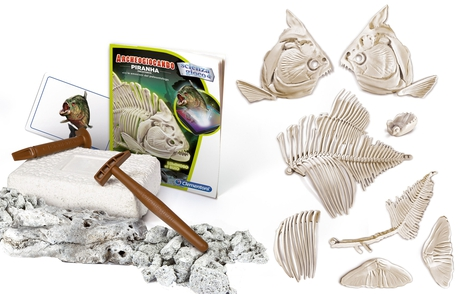 Archeogiocando - Piranha Luminoso al Buio - Clementoni