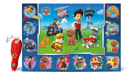 tapete gigante interativo paw patrol clementoni. Black Bedroom Furniture Sets. Home Design Ideas
