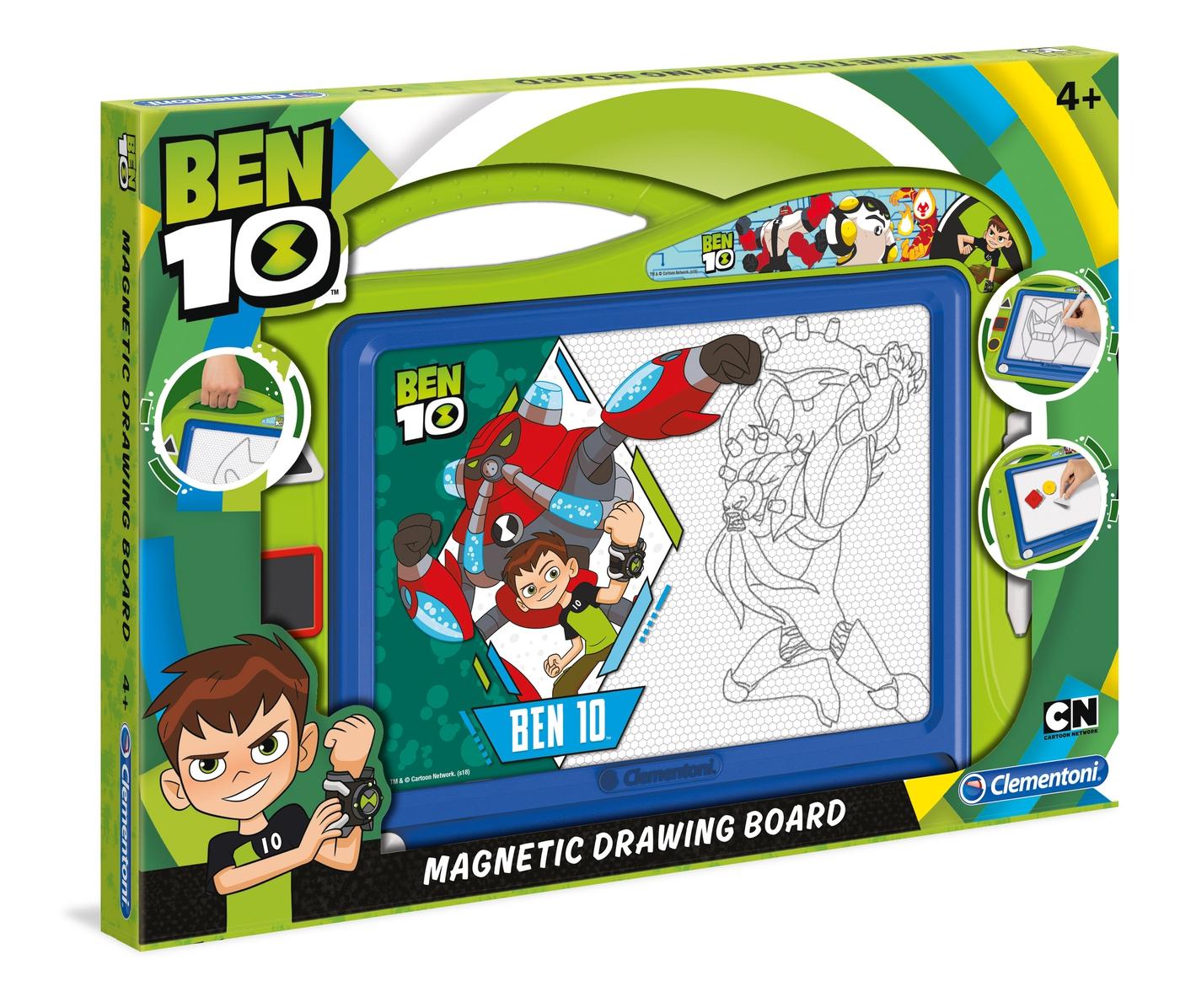 Ben 10 Magnetic Drawing Board Clementoni