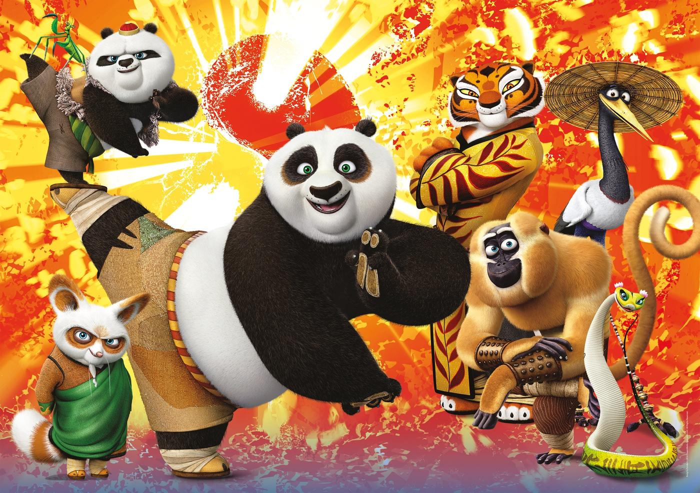 совершенно все картинки кунг-фу панда помню как